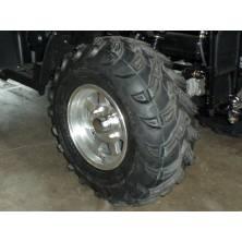 2 pneus arrières Quad 4x4 25/10-12 Innova pour une adhérence parfaite en terrain gras et une grande longévité