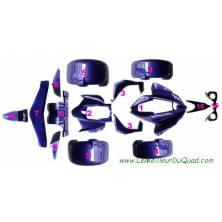 Kit carrosserie pour Quad SPY RACING F1 250/350