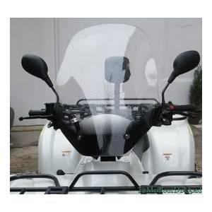 Parbrise universel Quad Trike Moto pour guidon en U diamètre 22