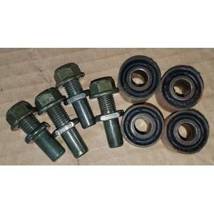 Kit 4 boulons et silenblocs de transmission pour Trike SPY RACING roue arrière