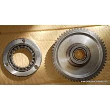 Pignon fou engrenage starter démarrage avec embrayage centrifuge, standard Quad Moto Loncin SPY RACING EGL Jinling etc