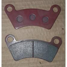 2 plaquettes de freins quad moto standard toutes marques