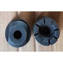 2 caoutchoucs ronds silenblocs pour châssis du siège EGL Madmax
