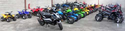 le-meilleur-du-quad Motos Quads Trikes stocks importants